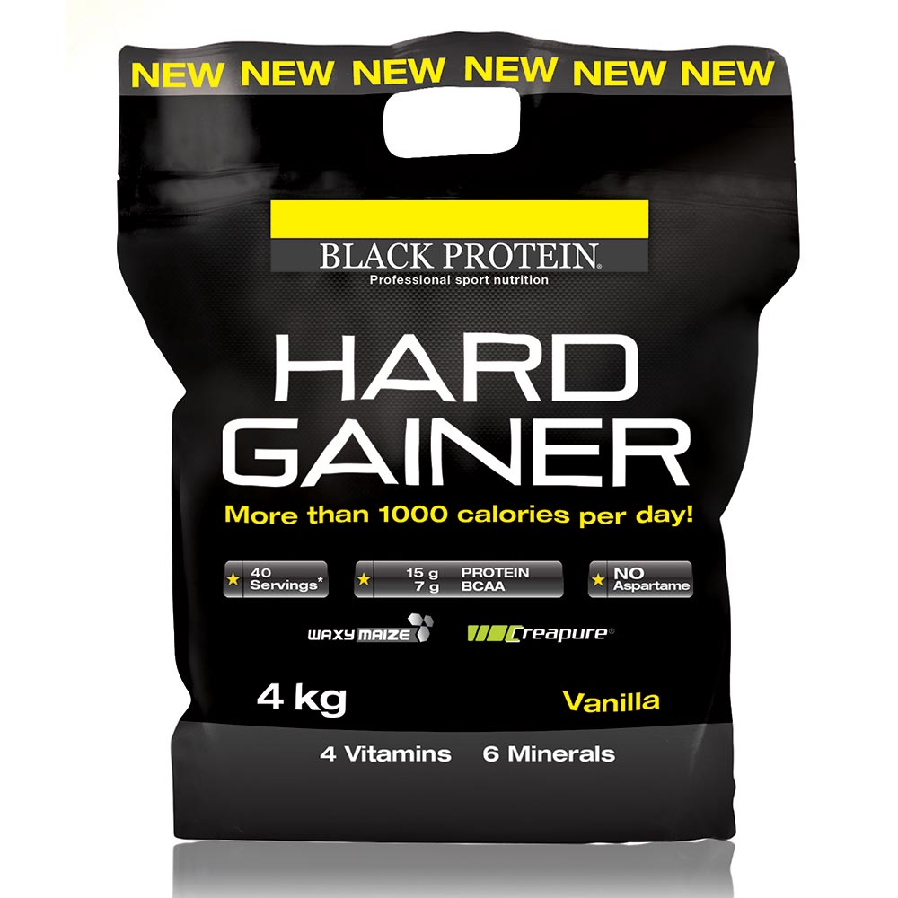 Black-protein Hard Gainer