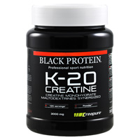 Creatine K 20 Creatina Black Protein - Fitnessboutique