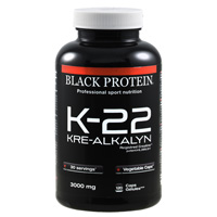 Creatine Black Protein K 22 Kre Alkalyn