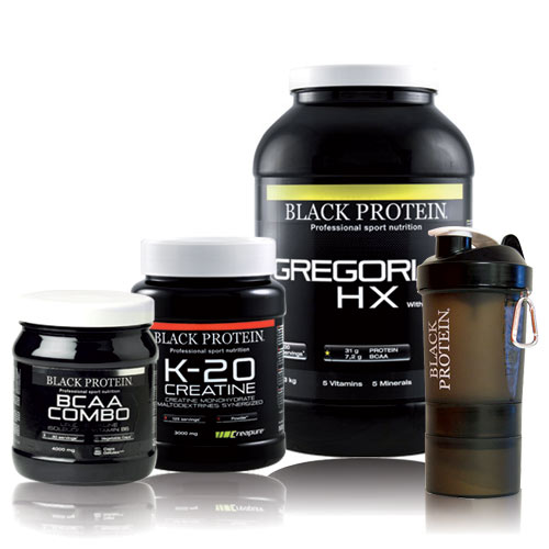 Black-protein Pack Prise de Masse 13