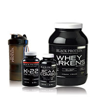 Whey Proteine Black-protein Pack Prise de Muscle 13