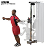 Bodysolid Pro Dual OPTIONAL DOPPIO POSTO PER COLONNA CON CAVI