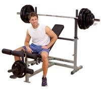 Panche PowerCenter Combo Bench Bodysolid - Fitnessboutique