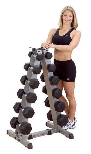 Bodysolid Vertical Dumbell Rack