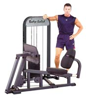 Panche specifiche Bodysolid LEG PRESS W/210LB COLONNA