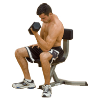 Panche UTILITY STOOL Bodysolid - Fitnessboutique