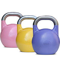 Kettlebell Bodysolid COMPETIZIONE 8 KG PINK
