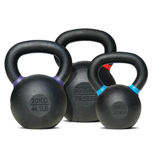 Bodysolid Kettlebell 4 kg Black - Light Green