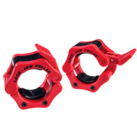 Olimpici - Diametro 51mm Bodysolid Clips olimpici Collar Red