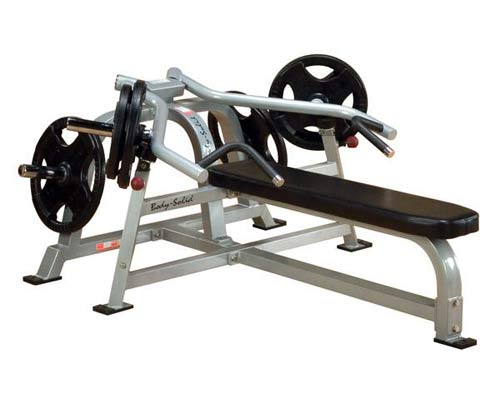 Bodysolide Club Line Pro Leverage Panca Piana Press per Braccia