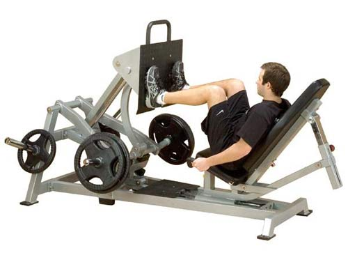 Bodysolide Club Line Pro Average Press per Cosce
