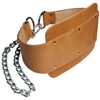 Accessori per trazioni Bodysolid LEATHER DIPPING BELT
