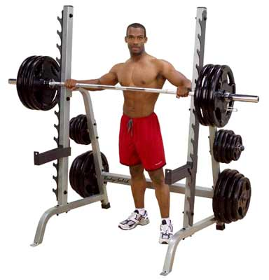 Bodysolid Multi-press rack Deluxe