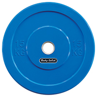 Olimpici - Diametro 51mm Bodysolid Olympic Bumper Plate Blue 15 kg