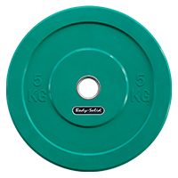 Olimpici - Diametro 51mm Olympic Bumper Plate Bodysolid - Fitnessboutique