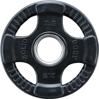 Olimpici - Diametro 51mm Disque olimpico gomma Bodysolid - Fitnessboutique