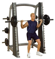 Smith Machine Counter Balanced Smith Machine Bodysolide Club Line - Fitnessboutique