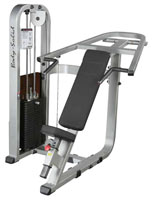 Attrezzi pettorali e spalle Bodysolide Club Line Press Inclinata Pro