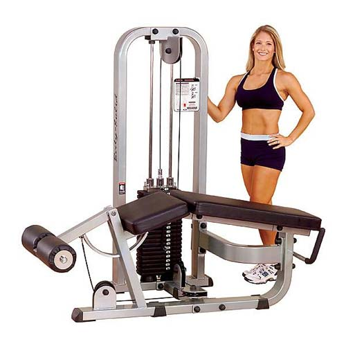 Bodysolide Club Line Leg Curl Machine