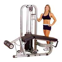 Panche cosce e polpacci Leg Curl Machine Bodysolide Club Line - Fitnessboutique