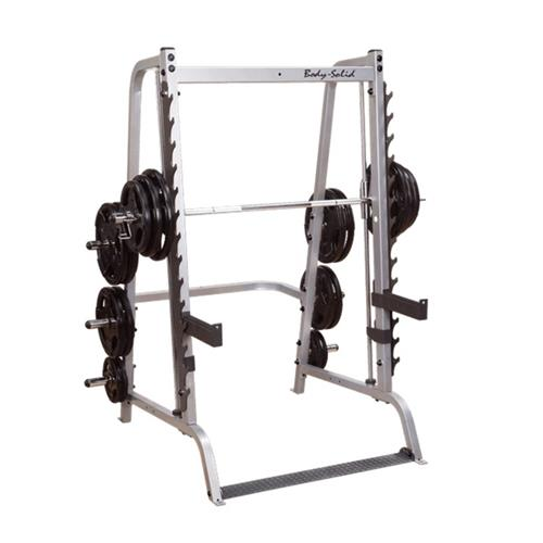 Smith Machine e Squat Machine Smith serie 7 base Bodysolid - Fitnessboutique