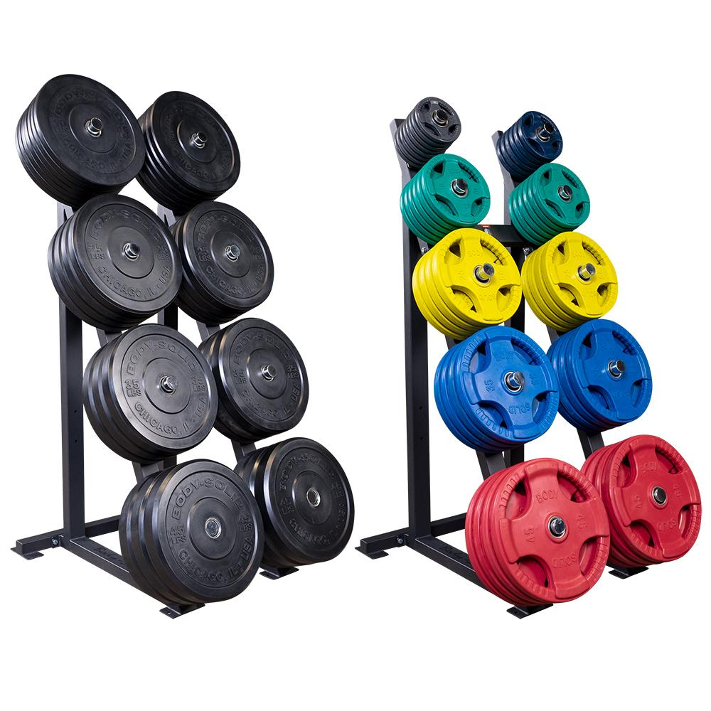 Bodysolid HIGH CAPACITY OLYMPIC PLATE RACK