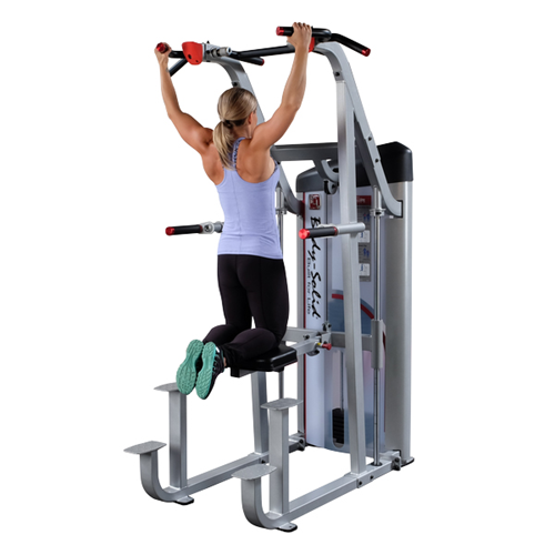 Sedia Romana CHIN DIP WEIGHT ASSISTED Bodysolide Club Line - Fitnessboutique