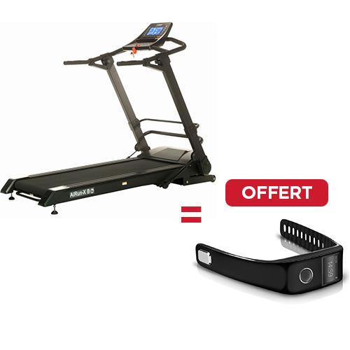 Tapis Roulant Dkn Airun X i Noir + Orologio Cardio Connect in omaggio