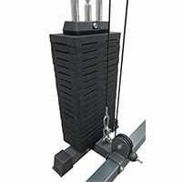 Rastrelliere e supporti per dischi Dkn Colonna di Pesi 100 kg optional per Power Rack