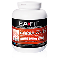 Whey Proteine Mega Whey Ea Fit - Fitnessboutique