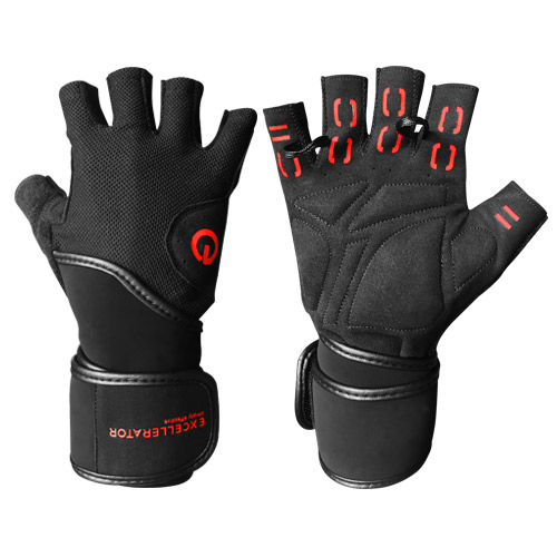 Guanti e cinturini EXCELLERATOR Weightlifting gloves with Wrist Support