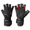 Guanti e cinturini Weightlifting gloves with Wrist Support EXCELLERATOR - Fitnessboutique