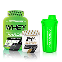 Whey Proteine Harder PACK SCOPERTA