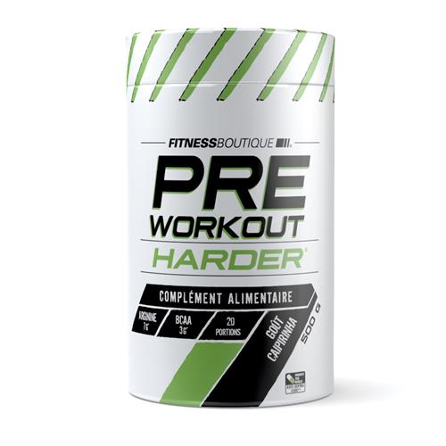 pre-allenamento PRE WORKOUT Harder - Fitnessboutique