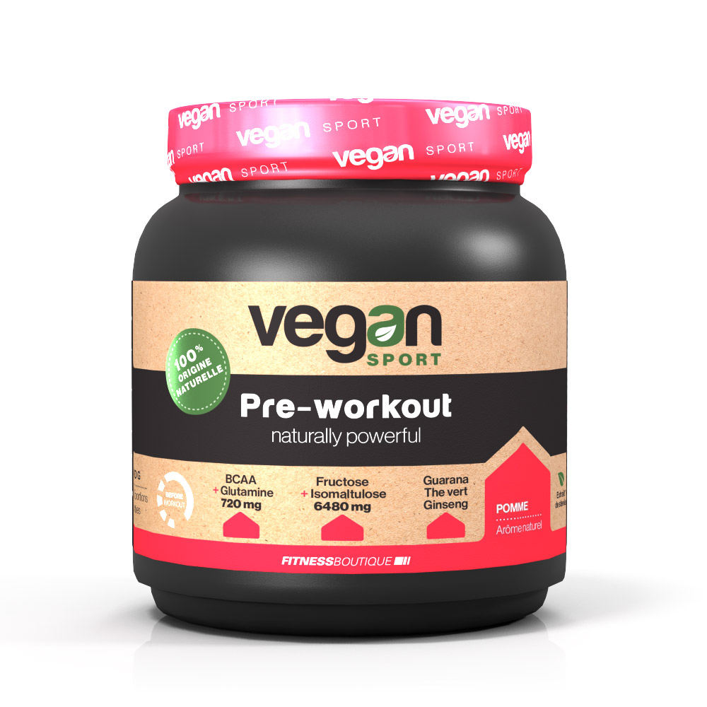 Vegan Sport PRE WORKOUT NATURALLY POWERFUL