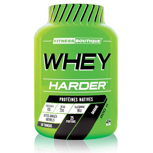 proteine WHEY HARDER Harder - Fitnessboutique