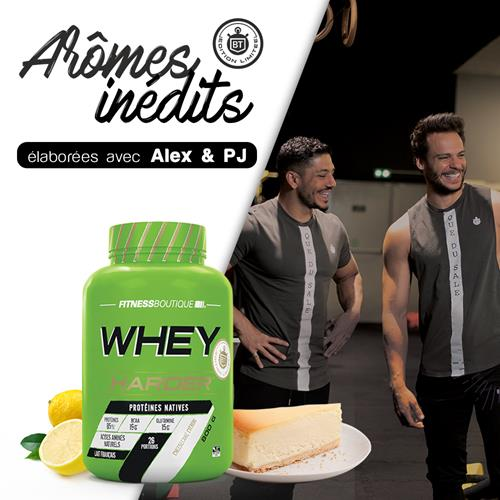 Whey Proteine Harder WHEY HARDER LIMITED EDITION BODYTIME