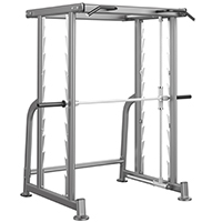 Smith Machine e Squat Heubozen MAX RACK 3D