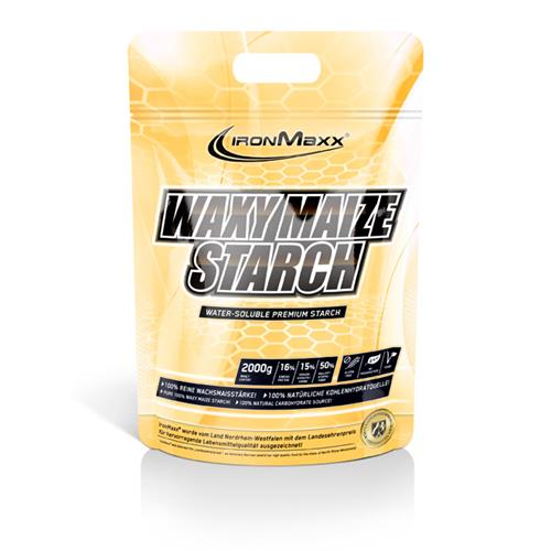 pre-allenamento WAXY MAIZE STARCH IronMaxx - Fitnessboutique