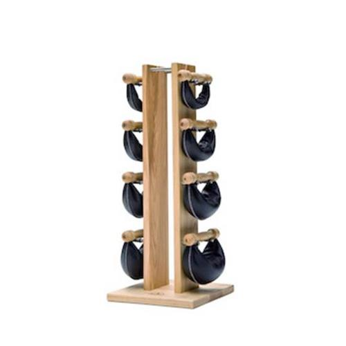 Rastrelliere e supporti per dischi TORRE IN FRASSINO CON SWING BELLS Nohrd - Fitnessboutique