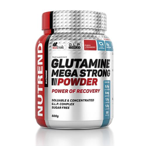 Aminoacidi Nutrend GLUTAMINE MEGA STRONG POWDER