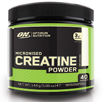 Creatine Optimum Nutrition MICRONIZED CREATINE POWDER
