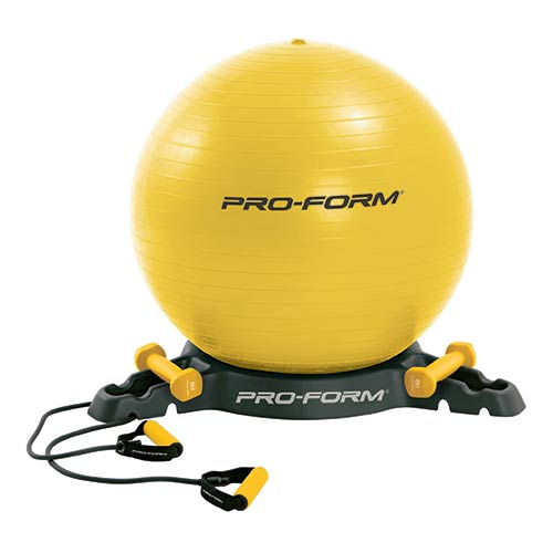 Palle Mediche e Gymballs Proform Kit Antiburst Gym Ball