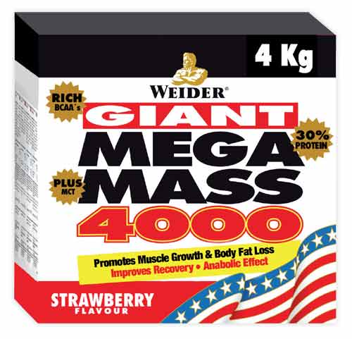 Weidernutrition Giant Mega Mass 4000